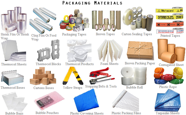 Packaging material supplier in dubai